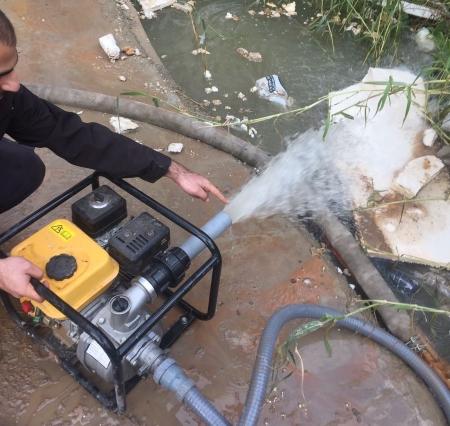 פתיחת סתימות ביוב בלחץ מים