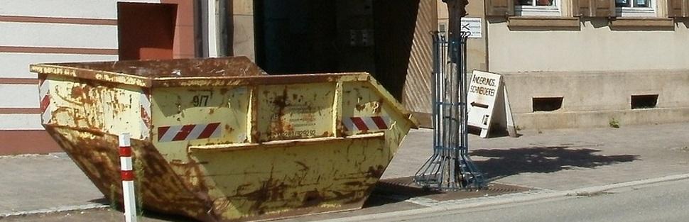 הזמנת מכולת פסולת